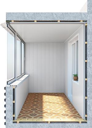 Отделка балконов и лоджий под ключ в спб недорого отделка ба.